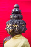 Multiple faces Buddha Royalty Free Stock Images