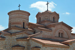 Multiple faith. Multiple roof on an orthodox temple Stock Image