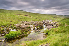 Multiple falls in Coquetdale Stock Photography