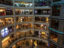 Multiple-floor shopping Royalty Free Stock Photography