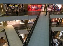 Multiple-floor shopping Royalty Free Stock Images