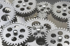 Multiple,Gearing, Layered Royalty Free Stock Photography