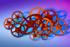 Multiple gears Stock Photos