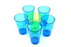 Multiple glasses Royalty Free Stock Photo