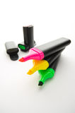 Multiple Highlighters Stock Photos
