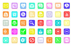Multiple icon Stock Images