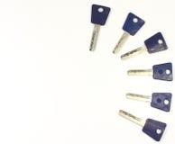 Multiple keys Stock Photography