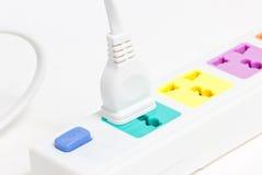 Multiple Plug Socket. Stock Photo