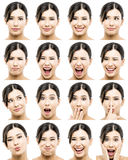 Different expressions Royalty Free Stock Photo