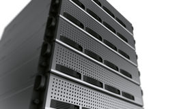 Multiple Rack servers Stock Photos