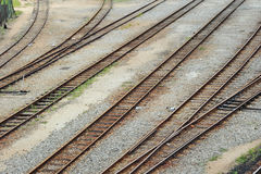 Multiple Rail Track Stock Photos