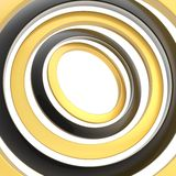 Multiple rings background composition Stock Photography