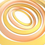 Multiple rings background composition Stock Image