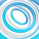 Multiple rings background composition Stock Photo