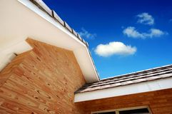 Multiple roof lines Stock Photography