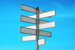 Multiple signpost Stock Photography