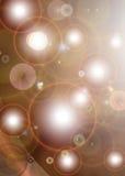 Multiple Solar Flare Background Stock Image