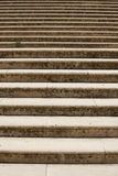 Multiple stages of the stone stairs Royalty Free Stock Photos