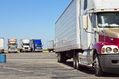 Multiple Trucks Royalty Free Stock Image