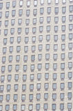 Multiple windows on a large office building London England Europ Royalty Free Stock Image