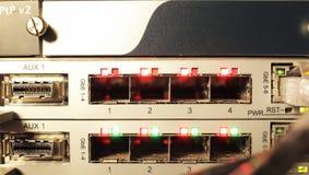 Multiplexer ótico Foto de Stock Royalty Free