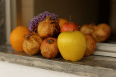 Multiplié et fruits photos libres de droits
