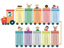 Multiplication table Royalty Free Stock Photography