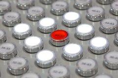 Multiplicidad de botones foto de archivo