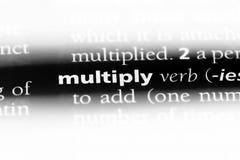 multipliez-vous photos stock