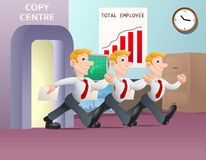 Multiplying businessman Stock Images