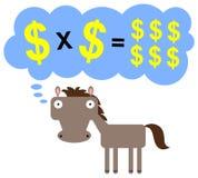 Multiplying My Earnings Royalty Free Stock Photo