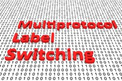 Multiprotocol label switching Stock Images