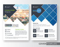 Multipurpose business and corporate flyer layout design. Multipurpose business corporate flyer layout design. Suitable for flyer, brochure, book cover and annual Stock Images