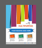 Multipurpose Business Flyer Royalty Free Stock Photos
