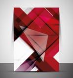 Multipurpose CMYK Geometric Print Template Royalty Free Stock Photography