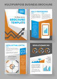 Multipurpose Corporate Business Brochure Template Stock Photo