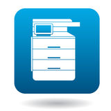 Multipurpose device, fax, copier and scanner icon Stock Photography