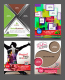 Multipurpose Flyer Royalty Free Stock Photos