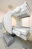 Multipurpose gamma camera. Equipment in radiation therapy at the hospital stock photography