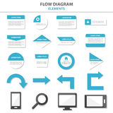 Multipurpose Infographic elements and icon presentation template flat design set for advertising marketing brochure flyer leaflet Stock Photography