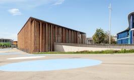 Multipurpose modern building Stock Images
