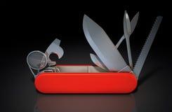 Multipurpose Penknife Royalty Free Stock Image