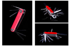 Multipurpose pocket tool. See my other works in portfolio Royalty Free Stock Photo