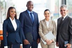 Multiraciaal commercieel team Royalty-vrije Stock Fotografie