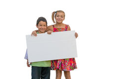 Multiracial группа в составе дети Стоковая Фотография RF