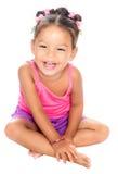 Multiracial малый смеяться над девушки Стоковые Изображения