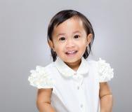 Multiracial baby girl Stock Photo