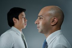 Multiracial business concept Stock Photos