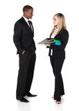 Multiracial business people Royalty Free Stock Photos