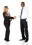 Multiracial business people Stock Images